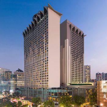 Hilton Singapore Orchard Hotel Facade